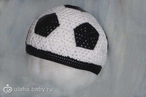 Шапочка «Футбольный мяч» и