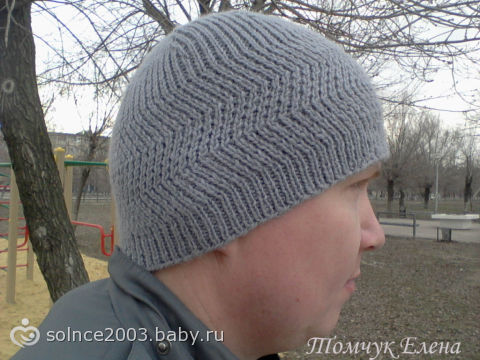 Самая мужская шапка на весну