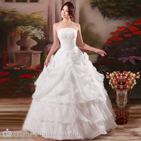 Фото свадебных платьев китай