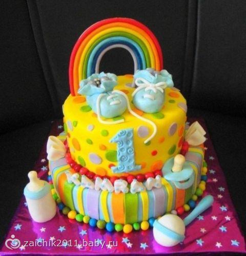 Какой торт вы выбрали бы на годик