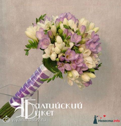 Как думаете, сколько цветов фрезии нужно на букет невесты. фото
