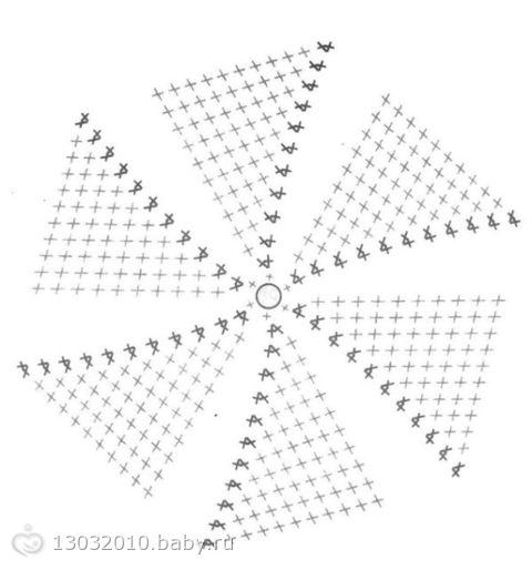 расшифровка схемы вязания