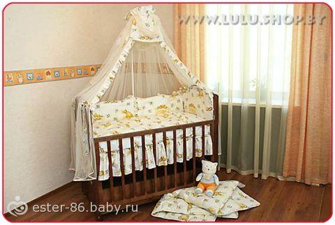 Бортики на кроватку (шьем сами) 49