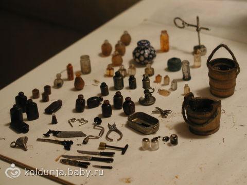 Инструменты для куклы своими руками
