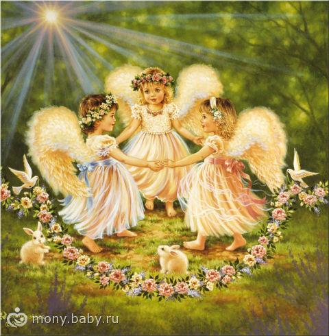 Стих о маленьких ангелах.
