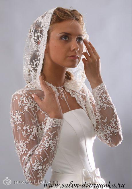 Венчальные платья и накидки