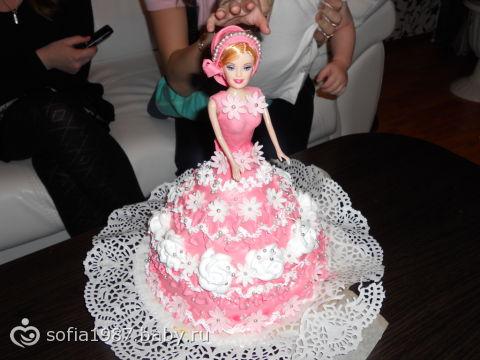 рождения малыша, торт на день рождения
