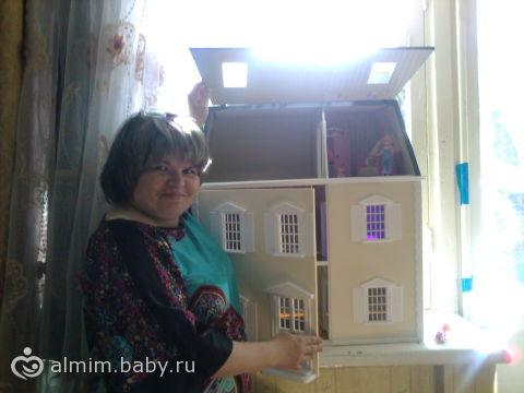 Большие дома для кукол своими руками