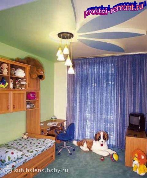 Сделать ремонт в детской комнате своими руками фото