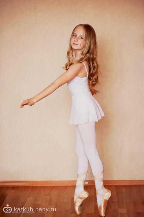Машенька - балерина. Домашняя фотосессия. / фотоссесия домашняя