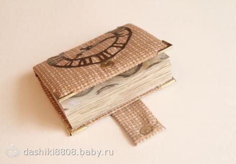 Блокнот для мужчин своими руками