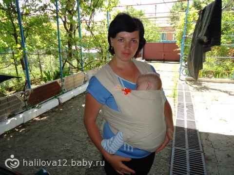 Сшила май-слинг (фото) / слинг своими руками фото