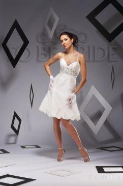 """""""To be Bride, свадебное платье HP0720.  Короткие свадебные платья."""