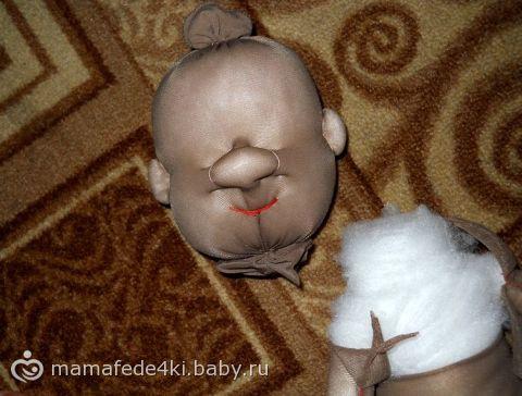 кукла из капрона)))