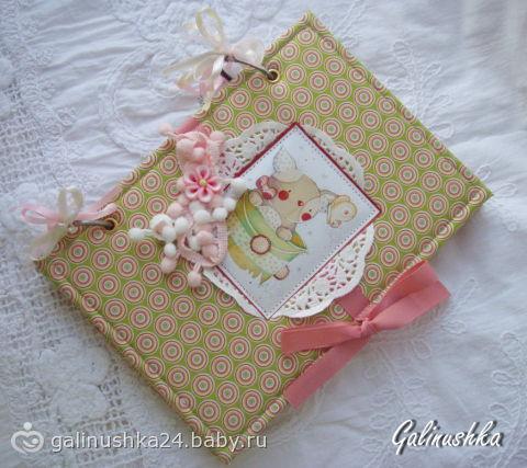 Мои блокноты ручной работы)))