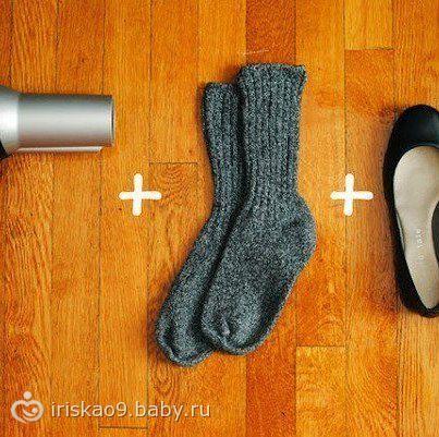 Как разносить новые туфли за 2 минуты.