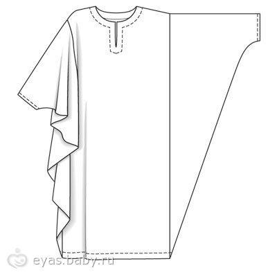 Арабские платья как сшить