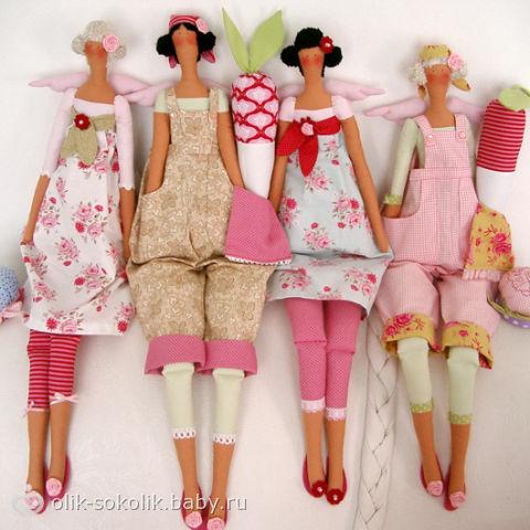 Шить куклы своими руками схемы