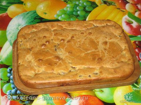 Пирог на завтрак быстро и вкусно