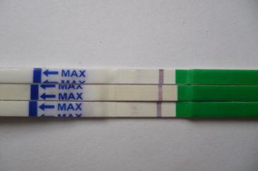 Тест на первой неделе беременности