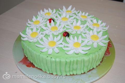 Тортик «Цветочки»
