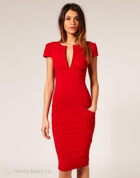 Хочу ярко красное платье