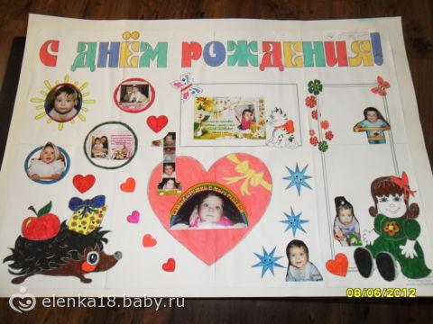 Постер фото своими руками