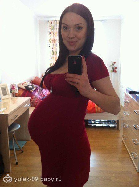 38 неделя беременности фото живота