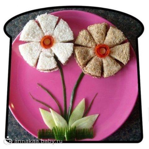 Креативные бутерброды для деток