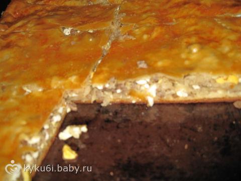 капустный пирог ) ФОТО сегодня приготовила, ммм
