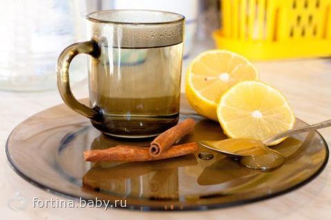 Напиток из корицы и мёда