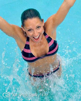 Суставов становятся гибкими особенно шея руки бедра трехминутный заплыв позволяет массаж при импланте тазобедренного сустава