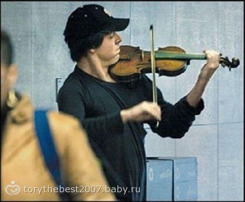 История скрипача